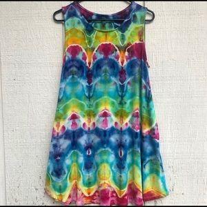 Sunshine Daydream 'Illusion' Tie Dye Dress